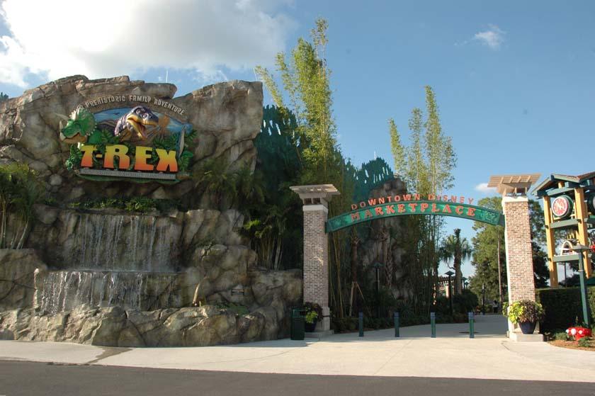 T Rex restaurant opens at Downtown Disney