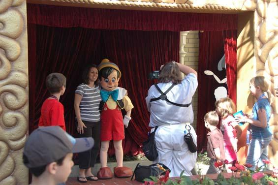 Pinocchio's Marionette Garden Party comes to Magic Kingdom