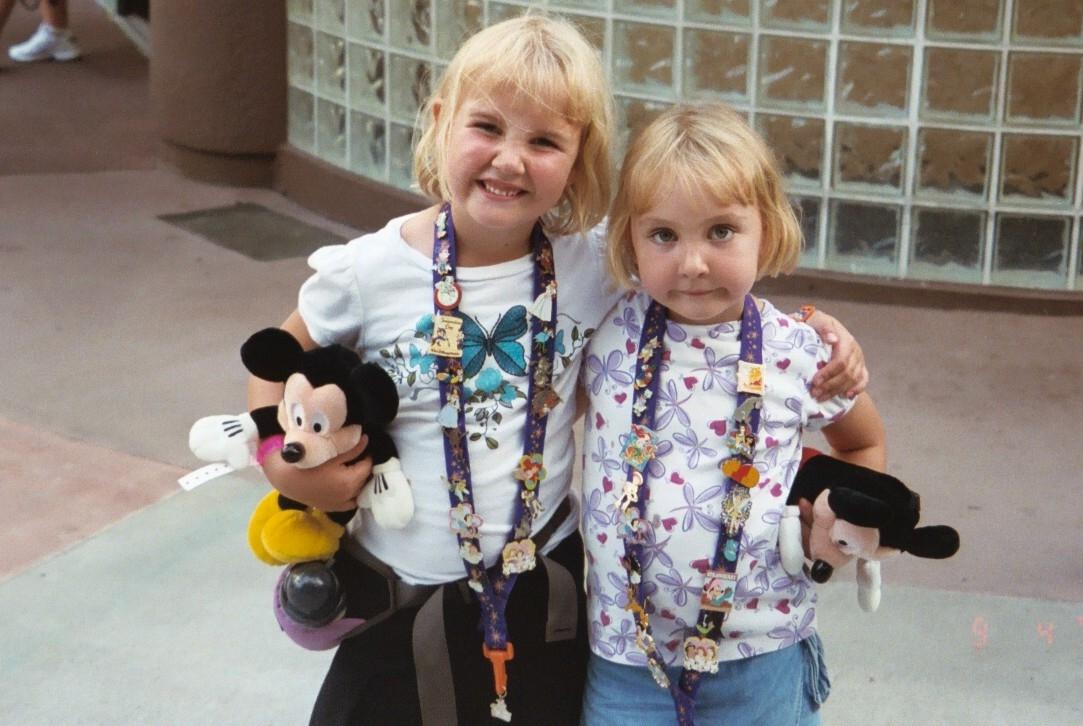 Disney Pin Trading, Family Style