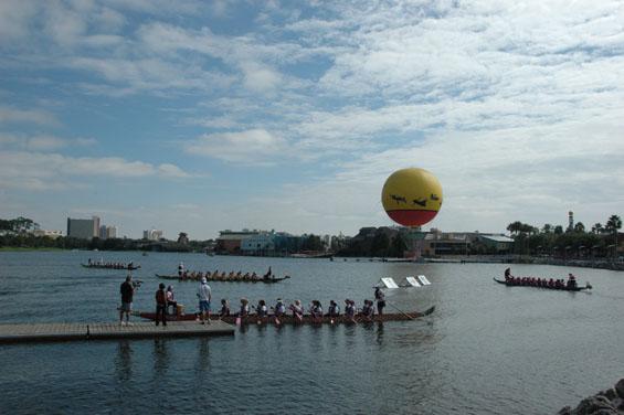 Orlando International Dragon Boat Festival at Walt Disney World