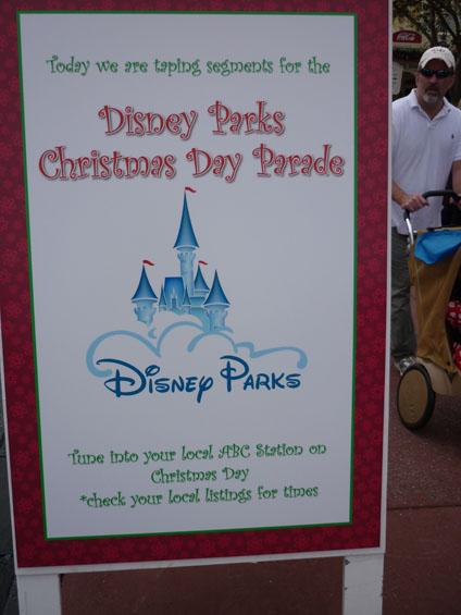 Holidays around Orlando: Disney Parks Christmas Parade