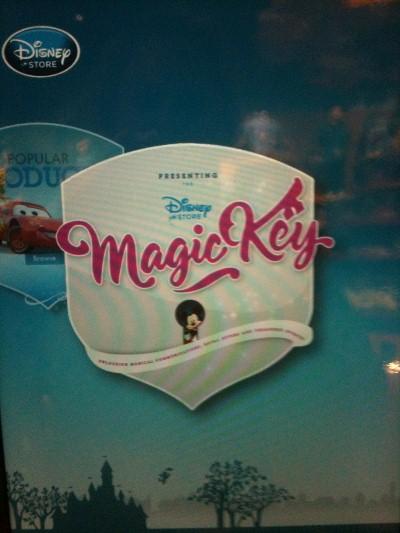 Imagination Disney Store Magic Key Service