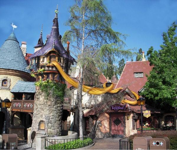 """Tangled"" Tower added to Disneyland's Fantasyland"