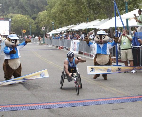 DL Half Marathon Winner Wheelchair (W Norton/Disneyland)