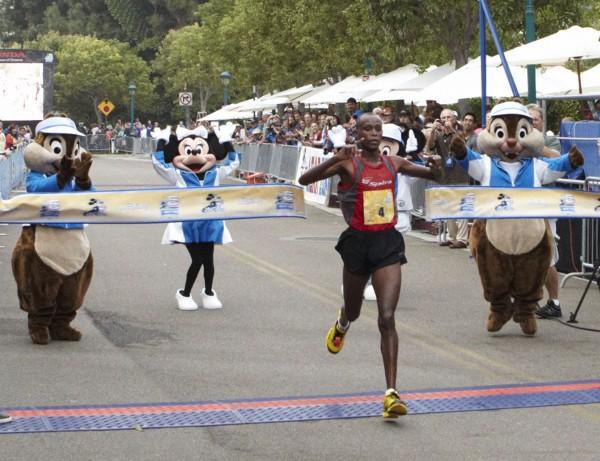 DL Half Marathon Winner Mens (W Norton/Disneyland)