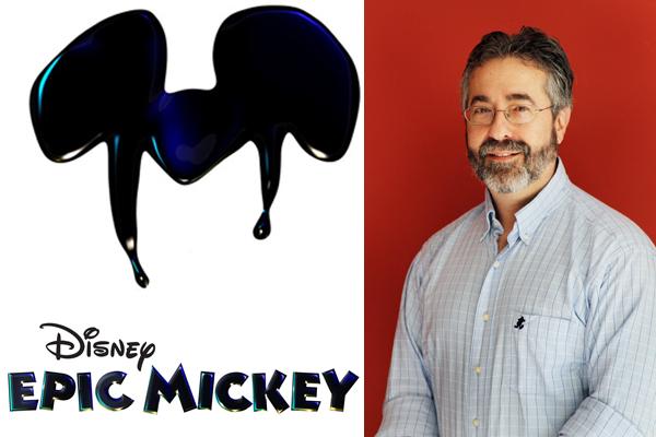 Epic Mickey logo ears and warren