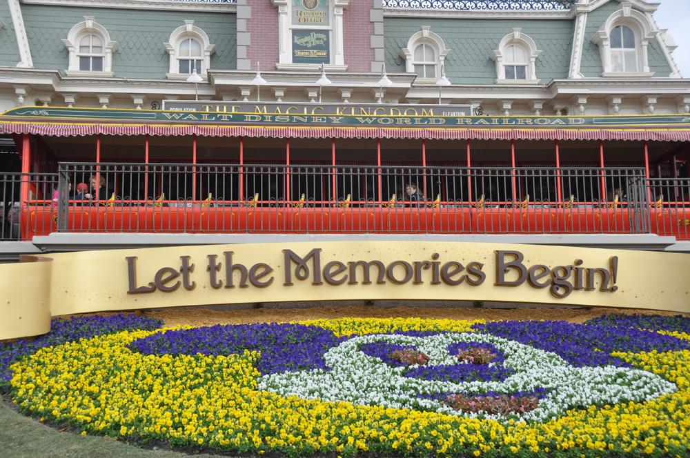 Let the Memories Begin! starts at Walt Disney World