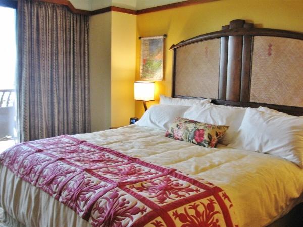 Aulani Construction Master Bed