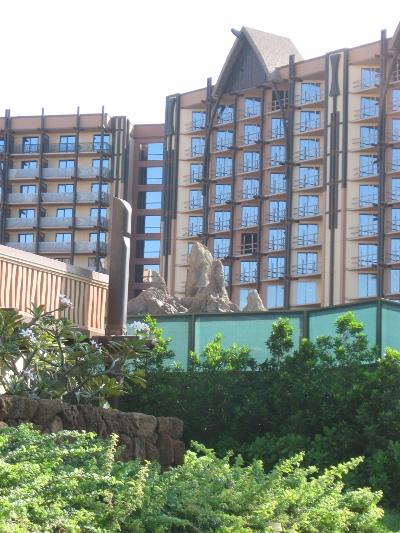 Aulani Construction The Pool Rockwork