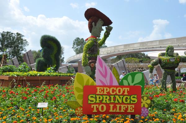 Epcot International Flower and Garden Festival 2011