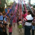 DL Princess Fantasy Faire The May Pole Dance