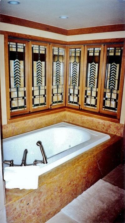 DL GCH Frank Lloyd Wright Suite Master Bath windows