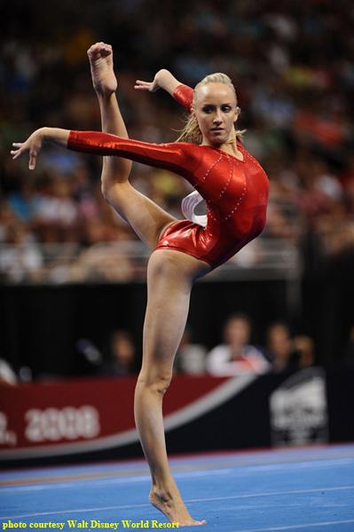 Gold Medal Gymnast Nastia Liukin Helps Girls at Walt Disney World