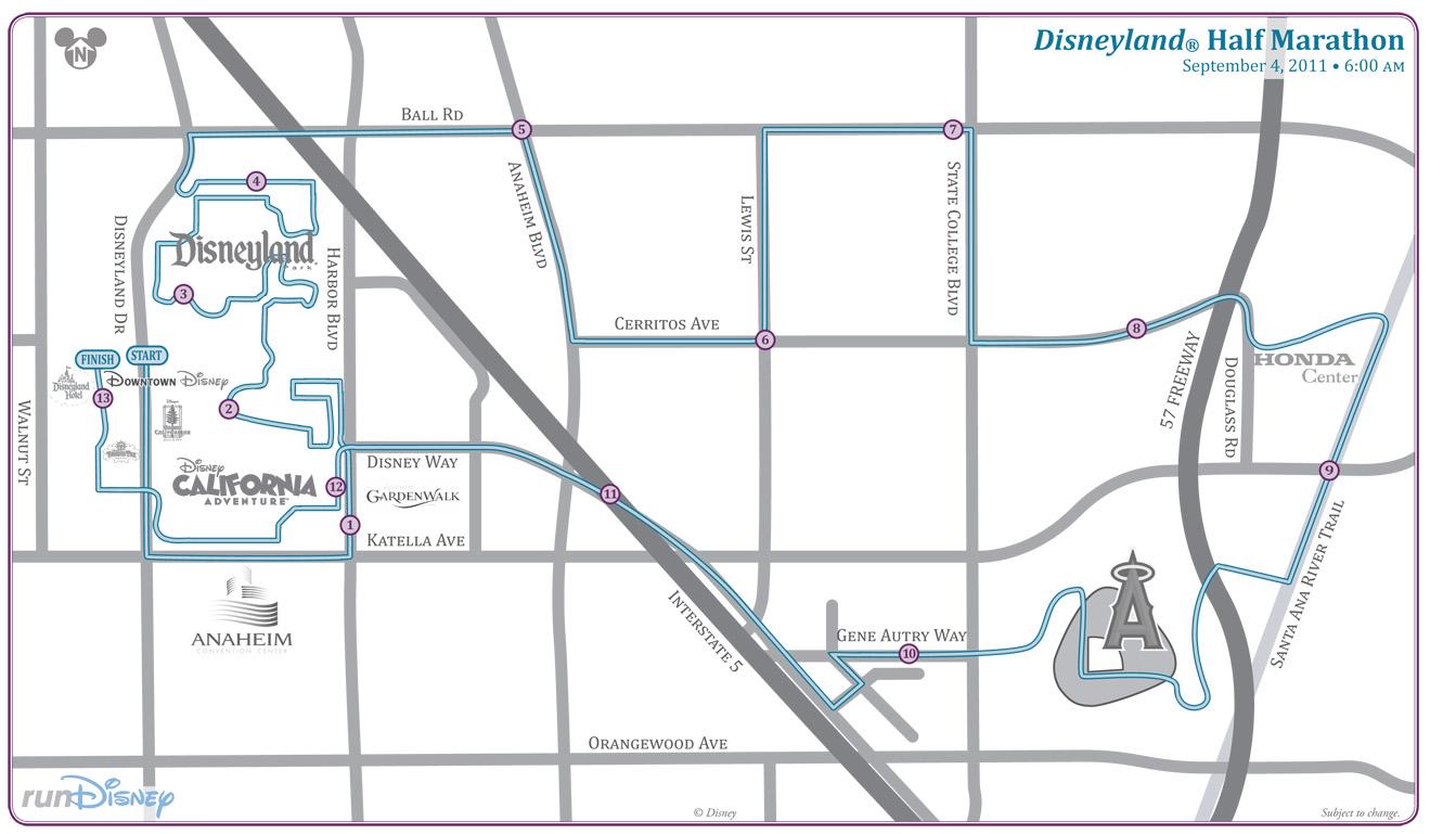 """2011 Disneyland Half Marathon – """"Fat Drew"""" Wouldn't Do This!"""