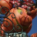 DL Halloween Party Minnie Turnstile Pumpkin