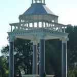 DL Walt's Grave Gazebo tomb