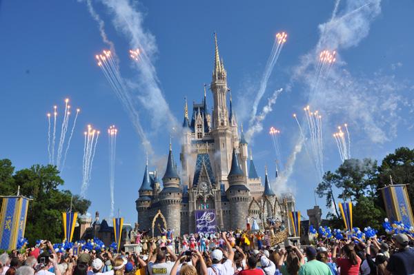 Walt Disney World celebrates 40 year anniversary