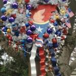 DL Small World Holiday Wreaths Americana