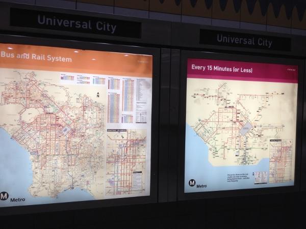 DL No Car Metroline Map