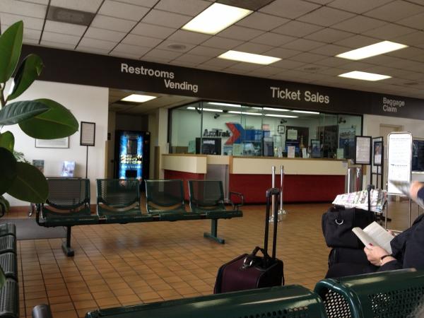 DL No Car Anaheim Train Station Interior