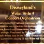 DL Arcade Orchestrion Plaque