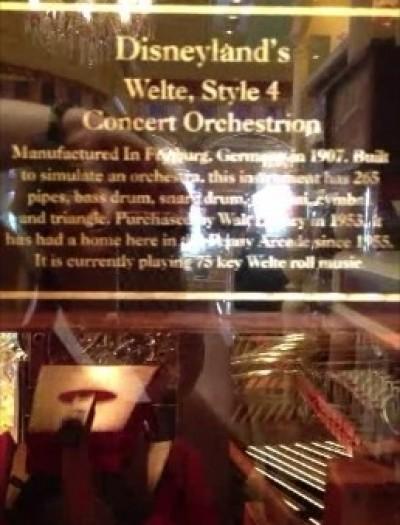 DL Arcade Orchestrion Plaque snapshot