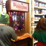 DL Penny Arcade Pinocchio machine