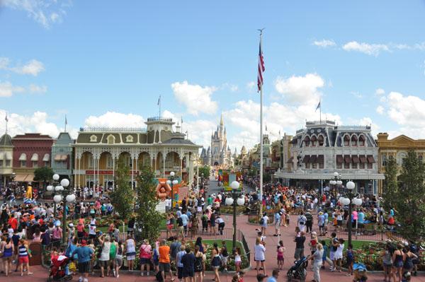Magic Kingdom Construction Update July 2012