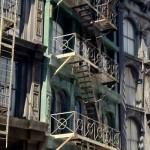 DL Movie Studio Tours NY Street Fire escapes
