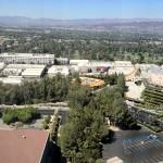 DL Movie Studio Tours Universal Aerial View Main Studio