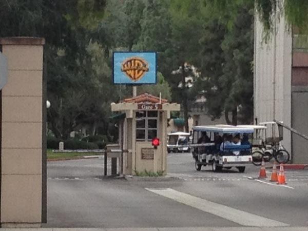 DL Movie Studio Tours  Warner Bros entrance[1]