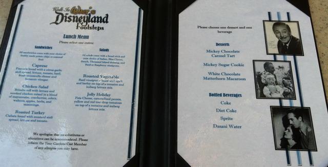Disneyland_WaltsFootsteps_menu