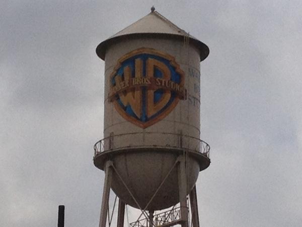 DL Movie Studio Tours  Warner Bros Water Tower