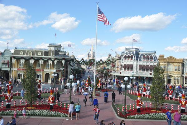 The Holidays arrive at Disney's Magic Kingdom