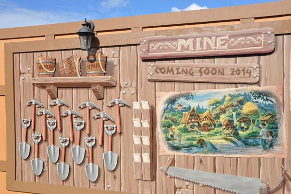 December Construction Update for Disney's Magic Kingdom
